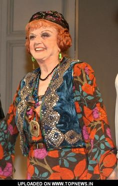 "who is angela lansbury | Angela Lansbury at ""Blithe Spirit: An Improbable Farce"" Broadway Play ..."