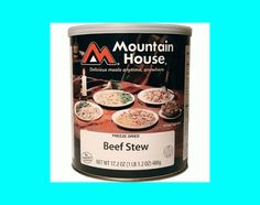 Mountain House #10 Cans - Hearty Beef Stew