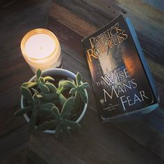 Whelp I jumped in knowing full well the third book is going to be a wait. I loved The Name of the Wind and wanted to read Wise Man's Fears while the story was still fresh in my mind. This is why I love finding out about Series after all the books are released!  #frostbeardstudio