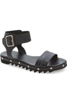 AGL Studded Leather Sandal #Nordstrom
