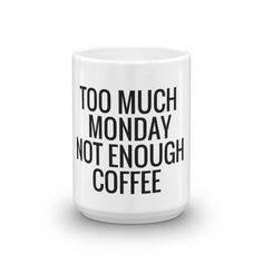 Monday Coffee Meme Mug