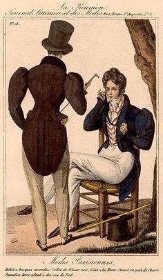 Modes Parisiennes 1827