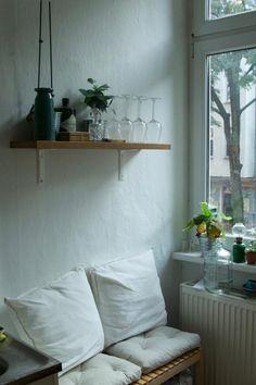 Gemütliche Sitzecke in der Küche. #kitchen #cozy