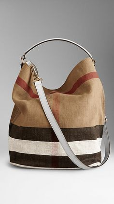 Shop shoulder bags from Burberry a runway-inspired collection featuring elegant shoulder & hobo bags in iconic check and brightly coloured leather Burberry Handbags, Tote Handbags, Leather Handbags, Stylish Handbags, Luxury Handbags, My Bags, Purses And Bags, Business Chic, Hobo Bag