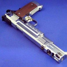 Sick compensator on this 1911. I bet it makes the gun kick down.