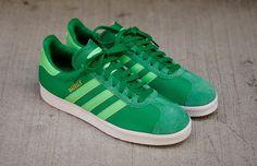 adidas Gazelle II - Fairway & Green Zest (7)