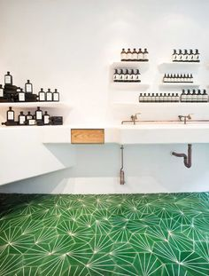 Melbourne skincare firm Aesop channels Covent Garden's leafy Italian piazza...