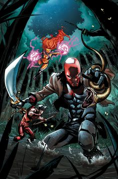 #Red #Hood #And #The #Outlaws #Fan #Art. (RED HOOD AND THE OUTLAWS #35 Cover) By: JORGE JIMENEZ. (THE * 5 * STÅR * ÅWARD * OF: * AW YEAH, IT'S MAJOR ÅWESOMENESS!!!™) ÅÅÅ+
