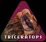 Ross Valory's Mouth Man Animated Clothing and Hoodies- Triceratops