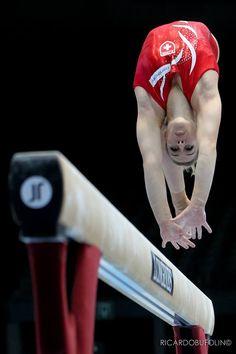 Swiss gymnast Giulia Steingruber - Artistic Gymnastics.
