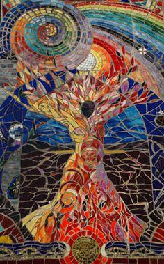 Mosaic chimney goddesshttp:/...