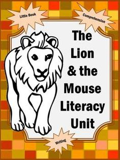 Lion and the Mouse Book Activities - 54 pages! #bookunit #lionandmouse #teaching #teacher #printable #worksheets #printableactivities #homeschool #math #ela #literature #readingcomprehension