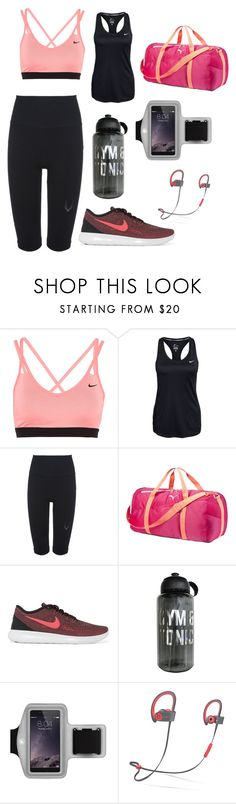"""""""Time to workout 🏃🏽♀️"""" by codybyrne0 ❤ liked on Polyvore featuring NIKE, Lucas Hugh, Puma, Merkury and Beats by Dr. Dre"""