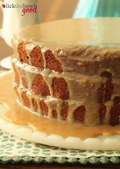 Mocha Cake with Espresso Icing