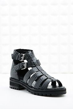 Out From Under Bailey Gladiator Sandals in Black