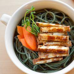 Kitsune Soba - my favorite vegan recipe blog is back up and running - veganyumyum