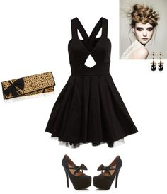 """New Years Outfit"" by shelovesmakeup on Polyvore"