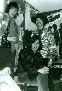 """the-pinky-kinkies: """" Roger, David and Nick 1968 """""""
