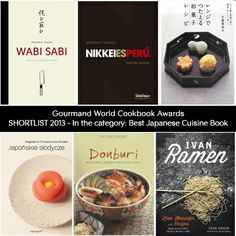 """Gourmand World #Cookbook #Awards SHORTLIST 2013 - In the category: Best Japanese Cuisine Book. My book """"Japanese sweets (Japońskie słodycze)"""" is on this list."""