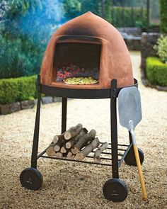 Beehive pizza oven