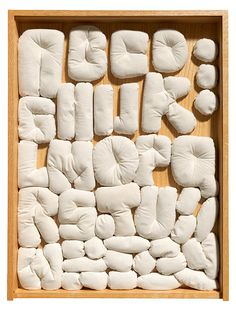 Soft Alphabet by Claes Oldenburg, 1978