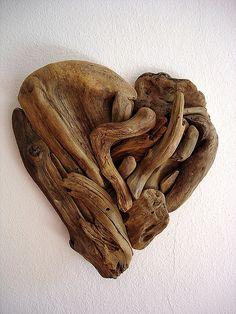 Big hearted drift wood. So cool. So easy.