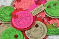 Something Special Tags by Dawn McVey for Papertrey Ink (November 2014)