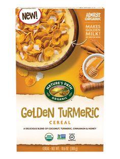 Golden Milk, Turmeric Spice, Organic Turmeric, Dry Coconut, Coconut Quinoa, Organic Cereal, Types Of Cereal, Best Cereal
