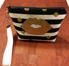 LipSense distributors wristlet bag purse pouch SEXY by jewellgem
