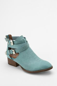 Jeffrey Campbell Everly Snake Cutout Ankle Boot. Im kinda obsessed with jeff campbell at the moment...