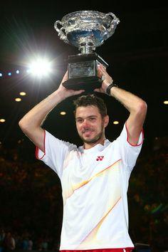 Stanislas Wawrinka - 2014 Australian Open - Day 14