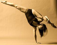 dance inspiration: one handed splits