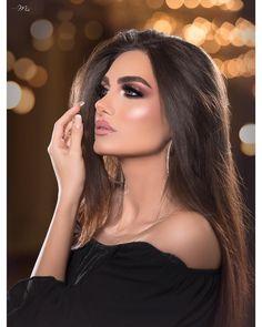 قالوا الحب اعمى قلت ليييته يشوف..✨✨✨✨✨ . . ' شكرا لكل كلمه كتبتوها احبكم من صميم قلبي عرايس الاجازه لكم ابداااااااااع لايوصف باذن الله… Sexy Makeup, Gorgeous Makeup, Beauty Makeup, Hair Makeup, Hair Beauty, Wedding Makeup Looks, Bridal Makeup, Bridal Hair, Diy Beauty Care