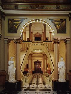 Grand Stairs - Grand Lodge of Pennsylvania