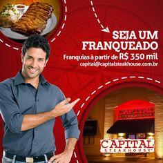 Realize seu sonho, seja um franqueado Capital Steak House