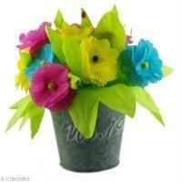 Bricolage de Fête des mères : Un bouquet de fleurs pour maman