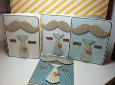 Craftin' on my door: Masculine Card idea...