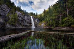 twin falls lake by Trevor Anderson, via Flickr