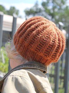 Ravelry: Garter Rib Hat pattern by Brooke Snow
