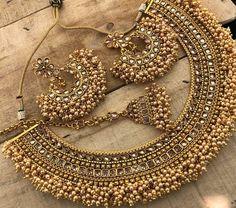 Ideas Hair Accessories Indian Earrings For 2019 - Modern Indian Jewelry Earrings, Indian Jewelry Sets, Jewelry Design Earrings, Indian Wedding Jewelry, Wedding Jewelry Sets, Indian Bridal, Jhumki Earrings, Earrings Uk, Hair Jewelry