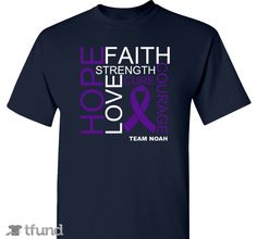 Check out TEAM NOAH                  Pediatric Stroke Awareness Fundraiser fundraiser t-shirt. Buy one & share it to help support the campaign!