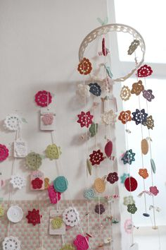 More ideas regarding what to do with all those motifs I want to crochet