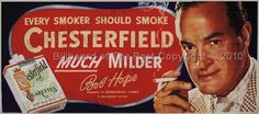 Vintage Chesterfield Cigarettes Billboards & Other Brand Pages - For Sale