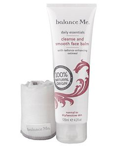 Cleanse and Smooth Face Balm by Balance Me