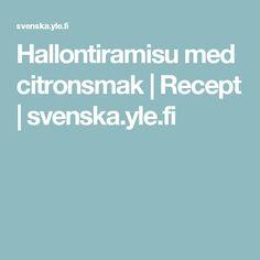 Hallontiramisu med citronsmak | Recept | svenska.yle.fi