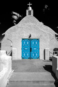 Catholic Church in San Ysidro, New Mexico, USA - notice the Spanish Colonial doors   ----Photograph Church Doors by Timothy Price on 500px