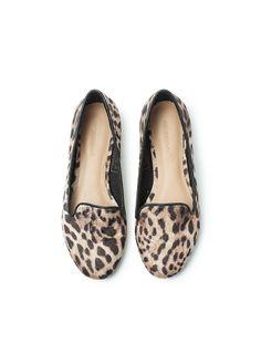 Slippers estampado leopardo