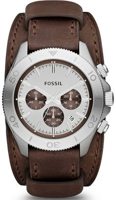 CH2857 - Authorized Fossil watch dealer - MENS Fossil RETRO TRAVELER, Fossil watch, Fossil watches