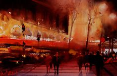 2nd International Watercolor Biennial in Narbonne
