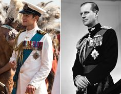Netflix's The Crown and the Royal Family: How much do the actors; Claire Foy, Matt Smith & Vanessa Kirby look like the real Royal Family. Queen Mary, Queen Elizabeth Ii, Netflix Programmes, The Crown Season 2, Prins Philip, The Crown Series, Crown Netflix, Princess Margaret, British Monarchy